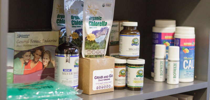 Supplements Offered at Pazera Chiropractic